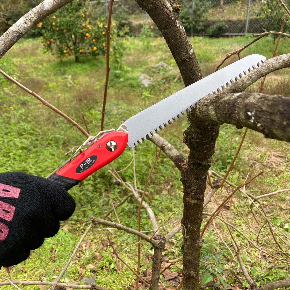 替刃鋸の定番。工作園芸鋸P-18