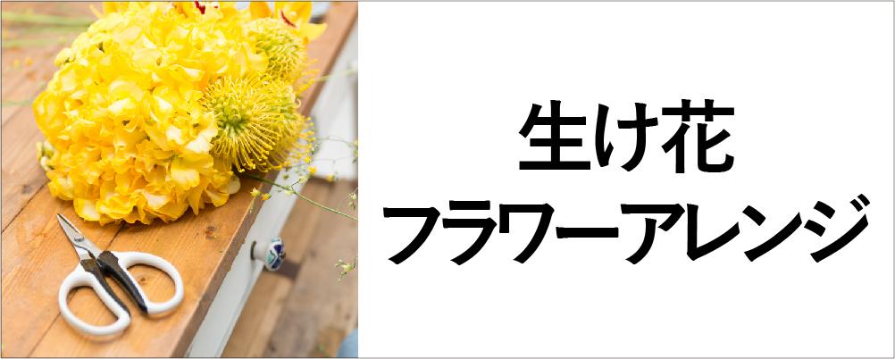 使用シーンから探す_園芸以外の製品_生け花フラワーアレンジメント